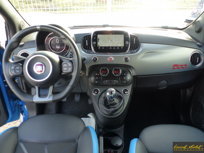 Photo 7 de l'offre de FIAT 500C MY17 1.2 69 ch Sport S Plus -35% à 11990€ chez Automobiles Laurent Violet