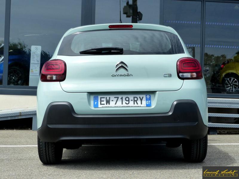 Photo 9 de l'offre de CITROEN C3 (III) 1.2 PureTech 82 Live à 9490€ chez Automobiles Laurent Violet