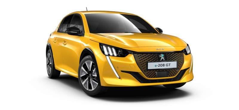 Peugeot 208 e-GT Pack Moteur électrique 136 cv (100 kW) Electrique  Neuf à vendre