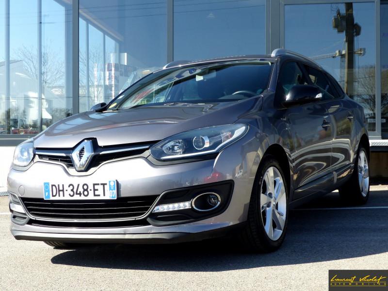 Renault Megane Estate III Phase 3 1.5 dCi 110 Limited Diesel grise Occasion à vendre