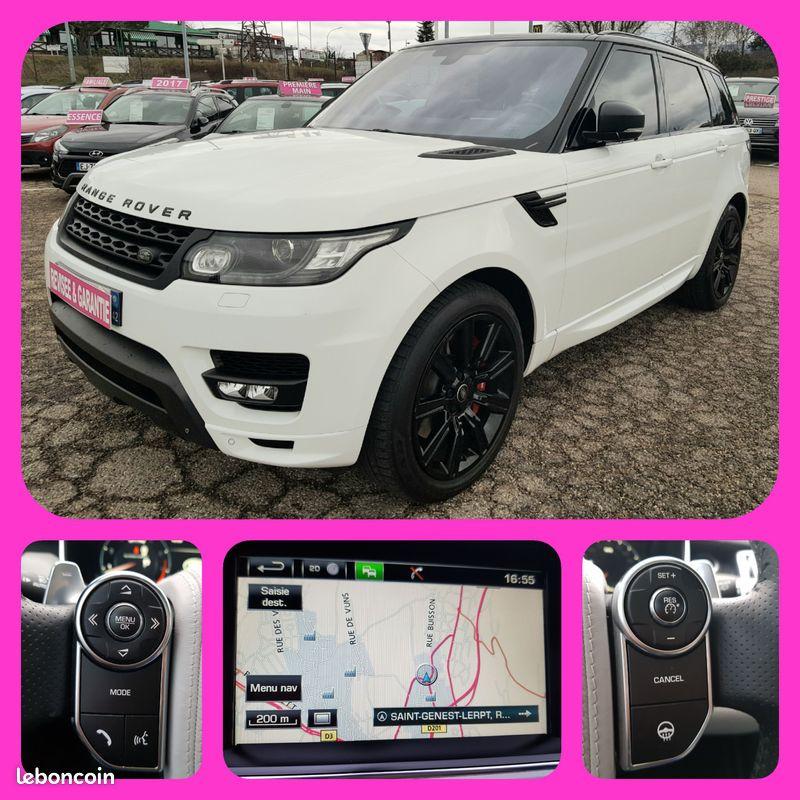Photo 1 de l'offre de LAND-ROVER Range Rover Sport 5L V8 510cv 4X4 Supercharged Autobiography 7 Places Toit Pano GPS Bluetooth Cuir à 54990€ chez L'Automobile - Jérôme BATHIARD