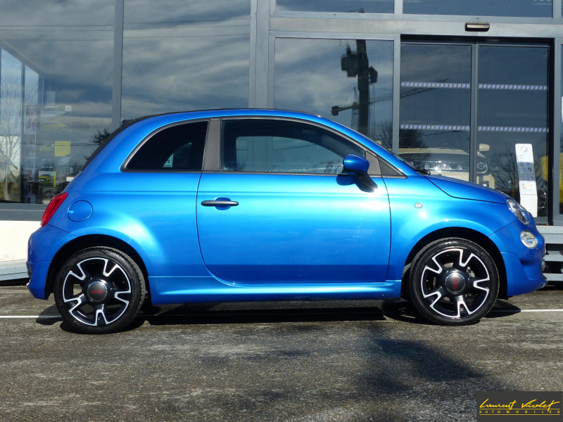 Photo 4 de l'offre de FIAT 500C MY17 1.2 69 ch Sport S Plus -35% à 11990€ chez Automobiles Laurent Violet