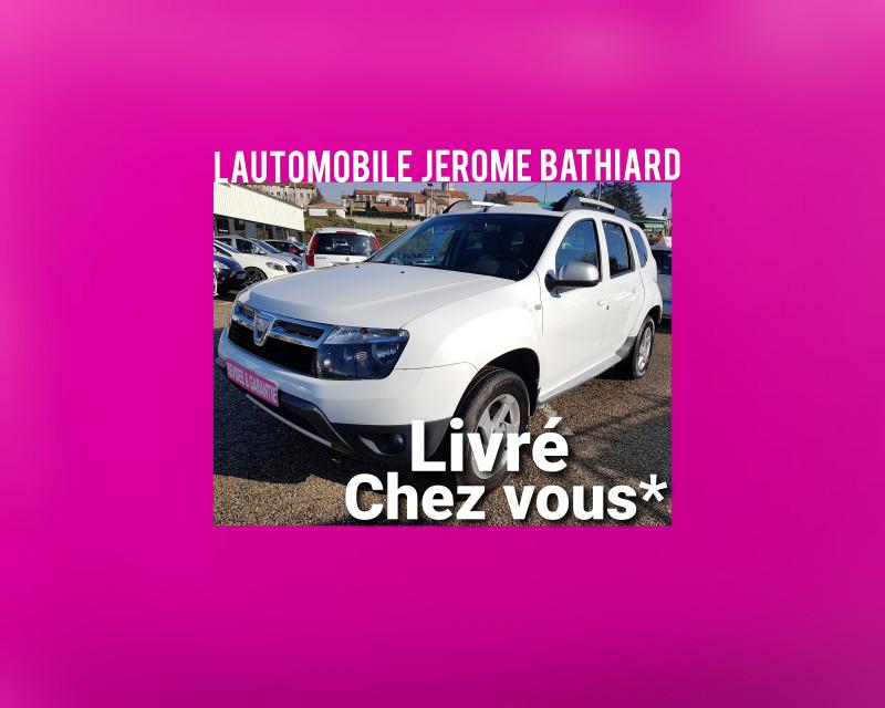 Photo 1 de l'offre de DACIA Duster PRESTIGE 1.5L DCI 110cv 4X4 (4WD) Intérieur Cuir Climatisation Attelage Jantes Alu à 8990€ chez L'Automobile - Jérôme BATHIARD