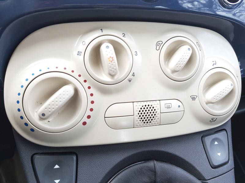 Photo 9 de l'offre de FIAT 500C 1.2L 69cv Cabriolet Pop Star Bluetooth Cuir Intégral Radar de Recul Jante Alu à 8990€ chez L'Automobile - Jérôme BATHIARD