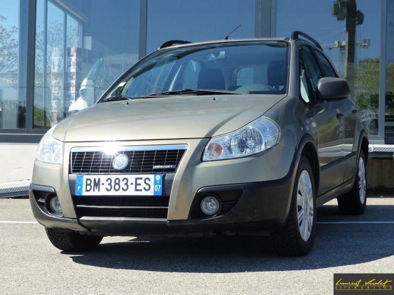 Fiat Sedici 1.9 Multijet 120 4x4 Dynamic Diesel Marron Occasion à vendre