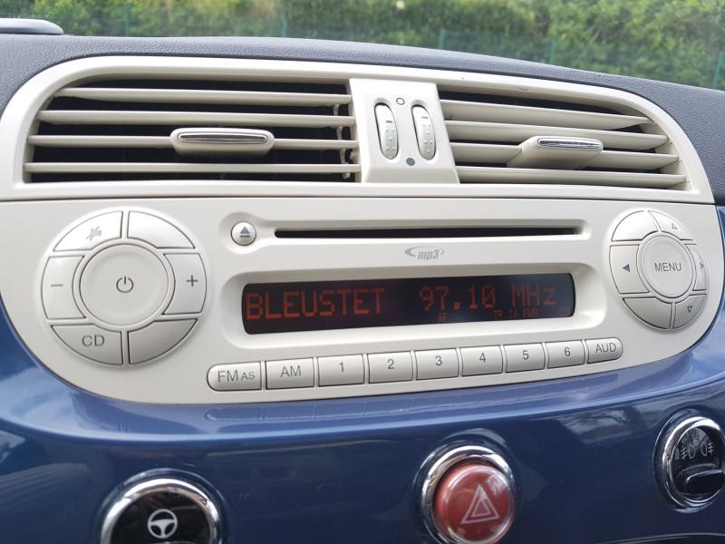 Photo 10 de l'offre de FIAT 500C 1.2L 69cv Cabriolet Pop Star Bluetooth Cuir Intégral Radar de Recul Jante Alu à 8990€ chez L'Automobile - Jérôme BATHIARD