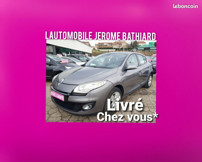 Renault Megane III 5Portes 1.5L DCI 110cv Clim Auto GPS Bluetooth Radar de Recul Radio CD MP3 Diesel gris Occasion à vendre