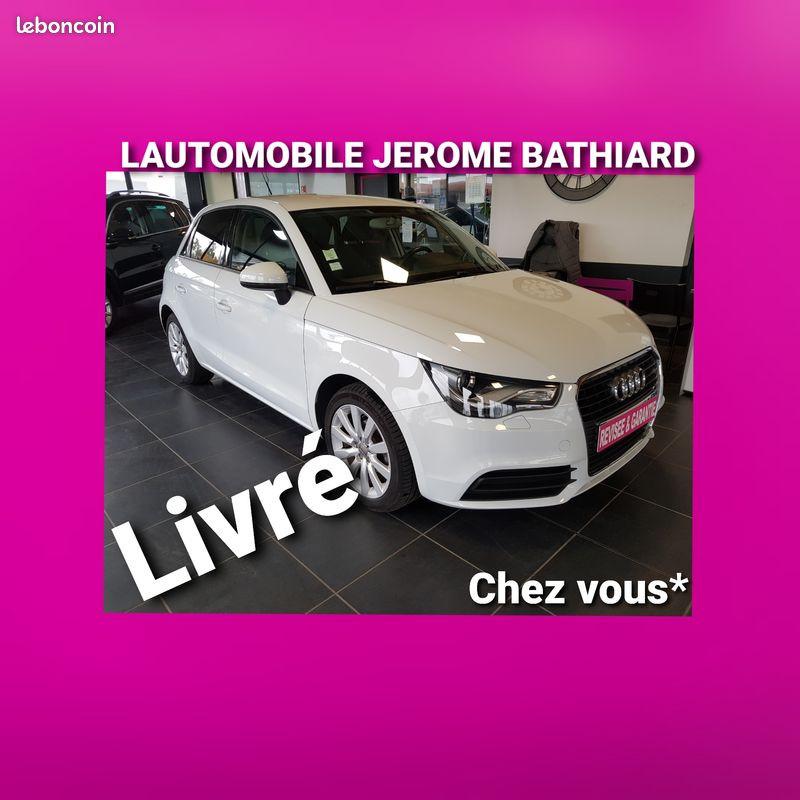 Audi A1 Sportback 1L2 TFSI 86cv 5 Portes SPORTBACK Moteur à Chaîne Climatisation Jantes Aluminium Essence blanc Occasion à vendre