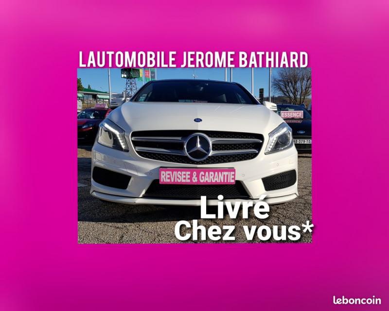 Mercedes-Benz Classe A A200 156cv Fascination Pack AMG Bluetooth Caméra de Recul GPS Toit Ouvrant Clim Essence BLANC Occasion à vendre