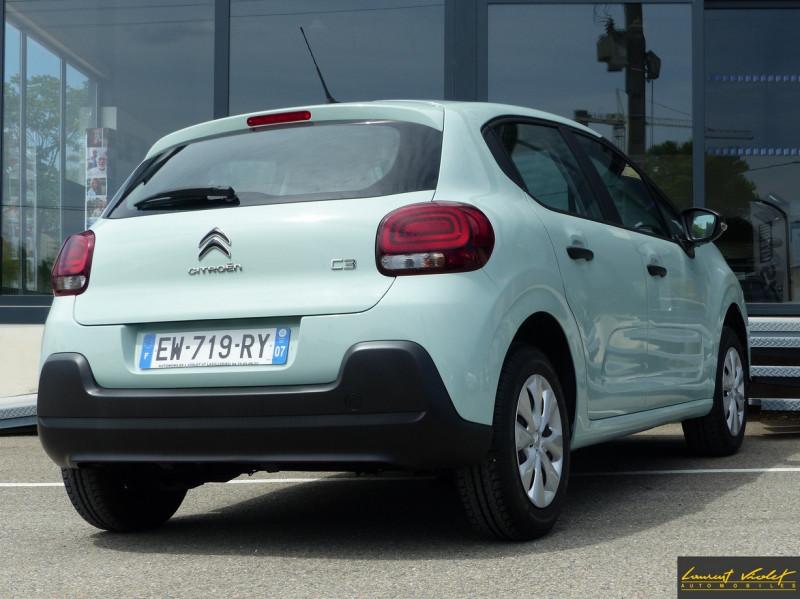 Photo 4 de l'offre de CITROEN C3 (III) 1.2 PureTech 82 Live à 9490€ chez Automobiles Laurent Violet