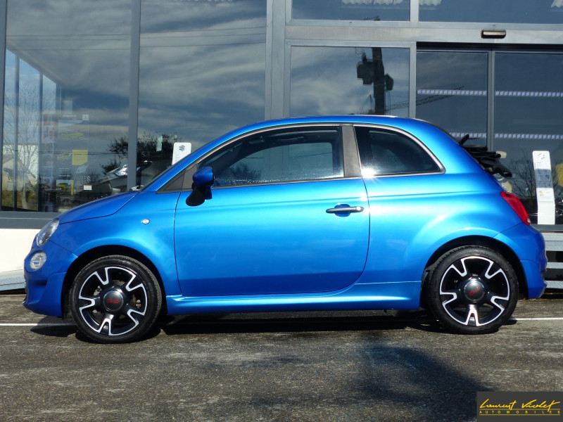Photo 3 de l'offre de FIAT 500C MY17 1.2 69 ch Sport S Plus -35% à 11990€ chez Automobiles Laurent Violet