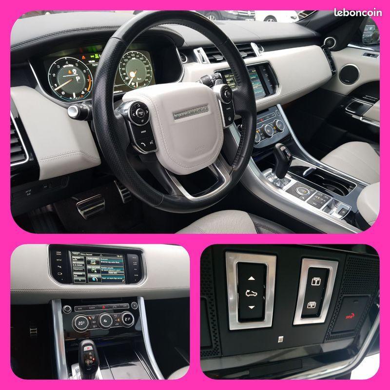 Photo 8 de l'offre de LAND-ROVER Range Rover Sport 5L V8 510cv 4X4 Supercharged Autobiography 7 Places Toit Pano GPS Bluetooth Cuir à 54990€ chez L'Automobile - Jérôme BATHIARD