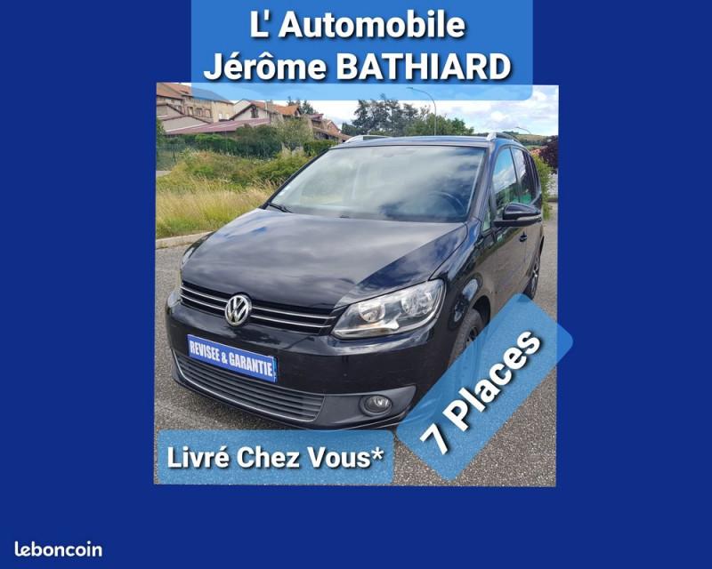 Photo 4 de l'offre de VOLKSWAGEN Touran 1.6L TDI 105cv 7 Places Confortline Climatisation Bluetooth Radar Arrière à 8990€ chez L'Automobile - Jérôme BATHIARD