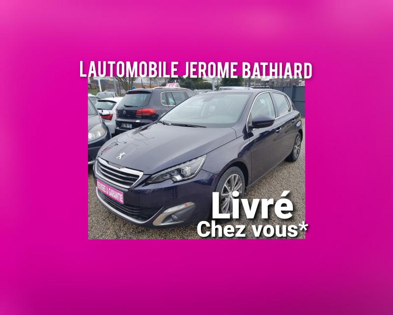 Peugeot 308 ALLURE 2L Blue-HDI 150cv Boite Auto Clim Auto GPS Bluetooth Radar Recul Attelage J. Alu Diesel bleu Occasion à vendre