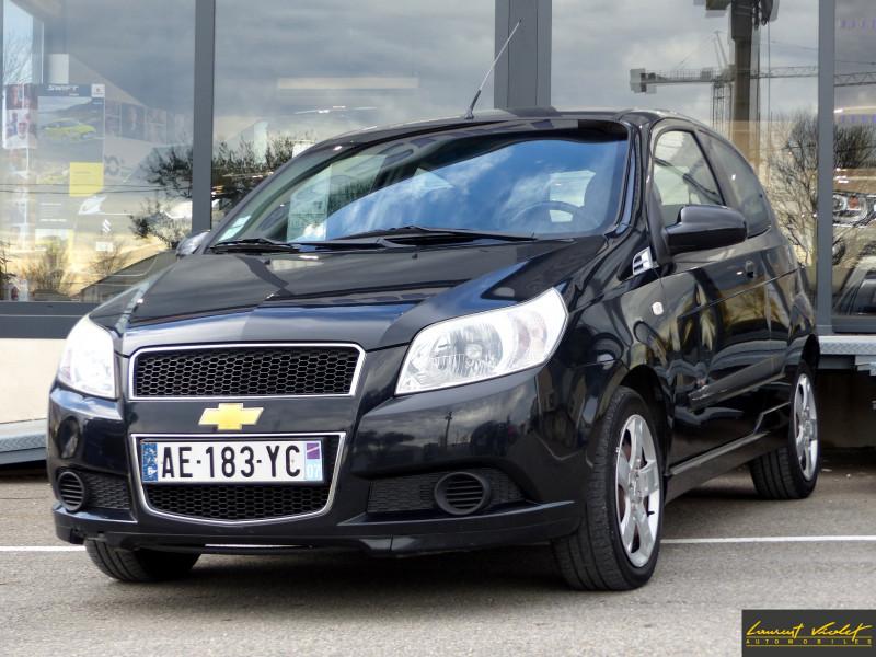 Chevrolet Aveo 1.2 16v 84 LS Essence NOIRE Occasion à vendre