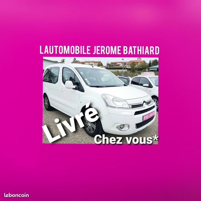 Citroen Berlingo Multispace 1.6L HDI 90cv 5P Climatisation 2 Portes Latérales Essence blanc Occasion à vendre