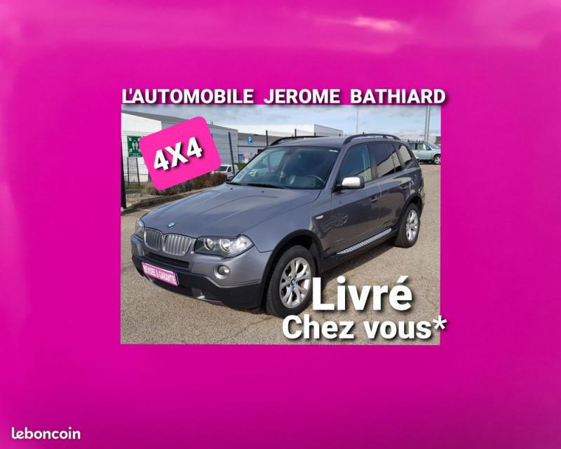 Photo 1 de l'offre de BMW X3 4X4 2L XDRIVE 20D 177cv Clim Auto Radar de recul Intérieur Semi Cuir Attelage Amovible à 7990€ chez L'Automobile - Jérôme BATHIARD