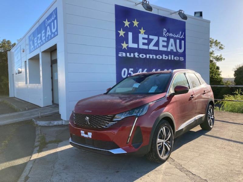 Photo 1 de l'offre de PEUGEOT 3008 3008 Allure Pack hdi 130 cv EAT8 à 32800€ chez Lezeau automobiles