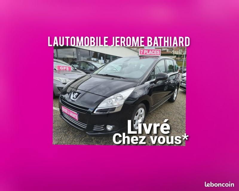 Photo 5 de l'offre de PEUGEOT 5008 1.6L HDI 110cv 7 Places Allure GPS Bluetooth Clim Auto Jantes Alu Radar de Recul à 10490€ chez L'Automobile - Jérôme BATHIARD