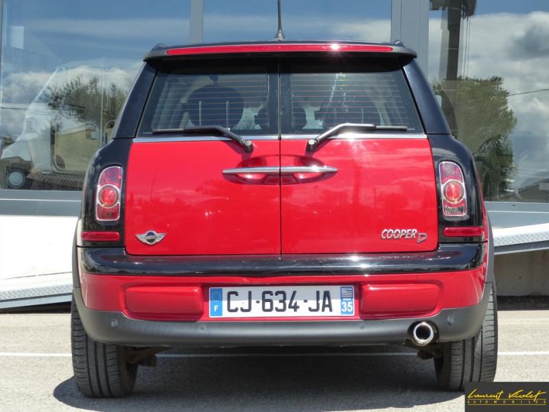Photo 6 de l'offre de MINI Mini Clubman Cooper D 112 Pack Red Hot Chili à 8990€ chez Automobiles Laurent Violet