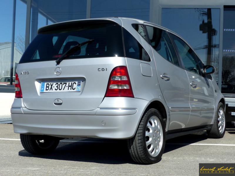 Photo 4 de l'offre de MERCEDES-BENZ Classe A 170 CDI W168 Elégance à 2990€ chez Automobiles Laurent Violet