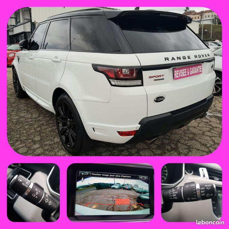 Photo 2 de l'offre de LAND-ROVER Range Rover Sport 5L V8 510cv 4X4 Supercharged Autobiography 7 Places Toit Pano GPS Bluetooth Cuir à 54990€ chez L'Automobile - Jérôme BATHIARD