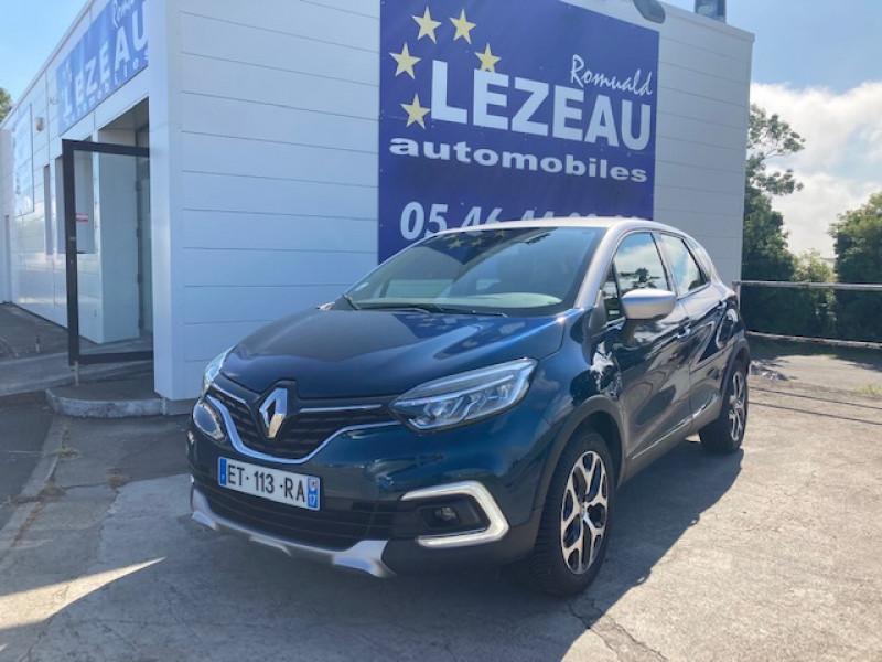 Photo 1 de l'offre de RENAULT Captur Intens TCe 120 cv EDC à 13900€ chez Lezeau automobiles