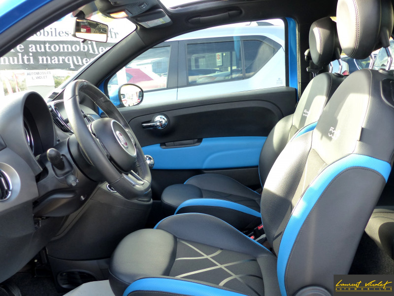 Photo 8 de l'offre de FIAT 500C MY17 1.2 69 ch Sport S Plus -35% à 11990€ chez Automobiles Laurent Violet