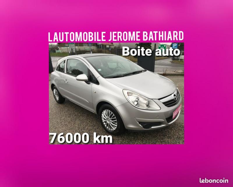 Opel Corsa Boîte Auto Moteur à Chaîne 1.2L 80cv 3P Toit Ouvrant Panoramique 76000 km Essence gris Occasion à vendre