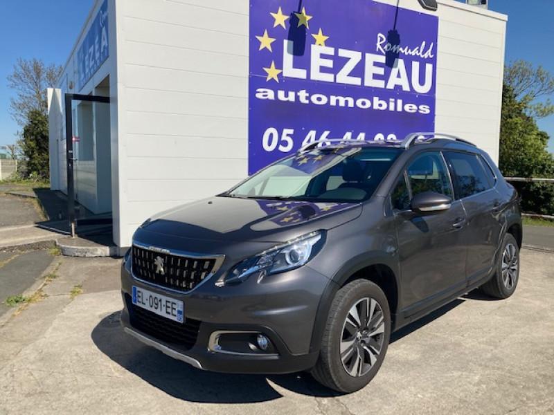 Peugeot 2008 Allure Hdi 120 cv Diesel gris Occasion à vendre
