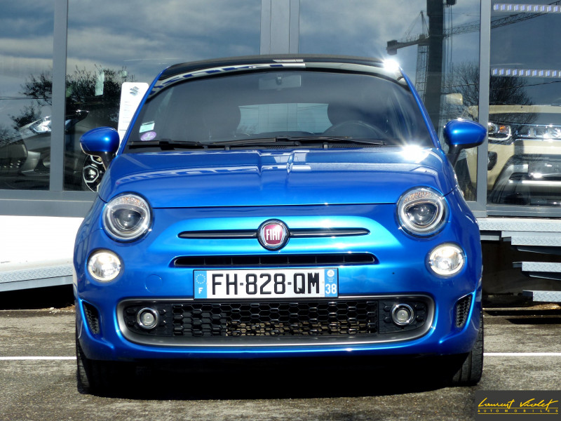 Photo 2 de l'offre de FIAT 500C MY17 1.2 69 ch Sport S Plus -35% à 11990€ chez Automobiles Laurent Violet
