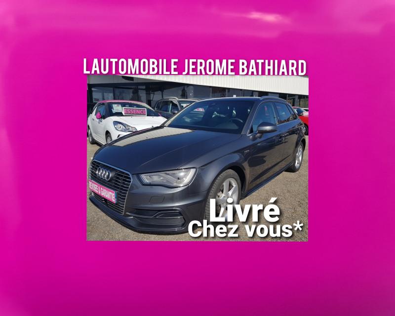 Audi A3 Sportback 1.4L TFSI 204cv E-Tron Rechargeable S Tronic6 (boite auto)  Hybrid Clim Auto GPS Bluetooth Hybride gris Occasion à vendre
