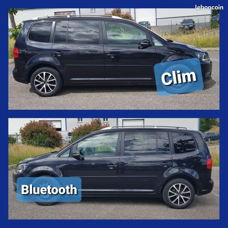 Photo 3 de l'offre de VOLKSWAGEN Touran 1.6L TDI 105cv 7 Places Confortline Climatisation Bluetooth Radar Arrière à 8990€ chez L'Automobile - Jérôme BATHIARD