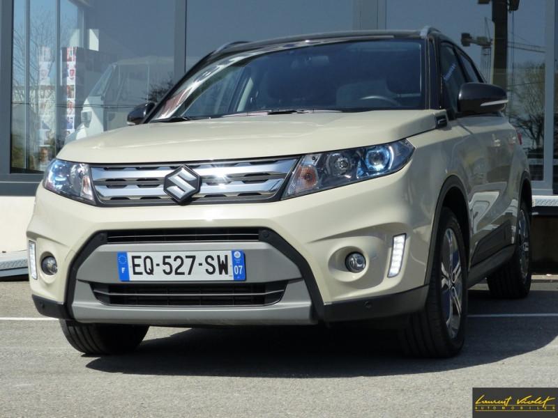 Suzuki Vitara 1.6 DDiS 120 Allgrip Auto Pack 1ère main Diesel Ivoire Occasion à vendre