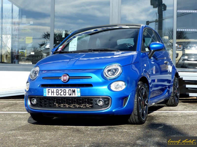 Photo 1 de l'offre de FIAT 500C MY17 1.2 69 ch Sport S Plus -35% à 11990€ chez Automobiles Laurent Violet