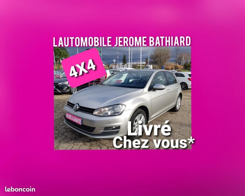 Photo 5 de l'offre de VOLKSWAGEN Golf VII 1.6L TDI Confortline 5 Portes 4Motion (4X4) Clim GPS Caméra Bluetooth J. Alu à 12990€ chez L'Automobile - Jérôme BATHIARD