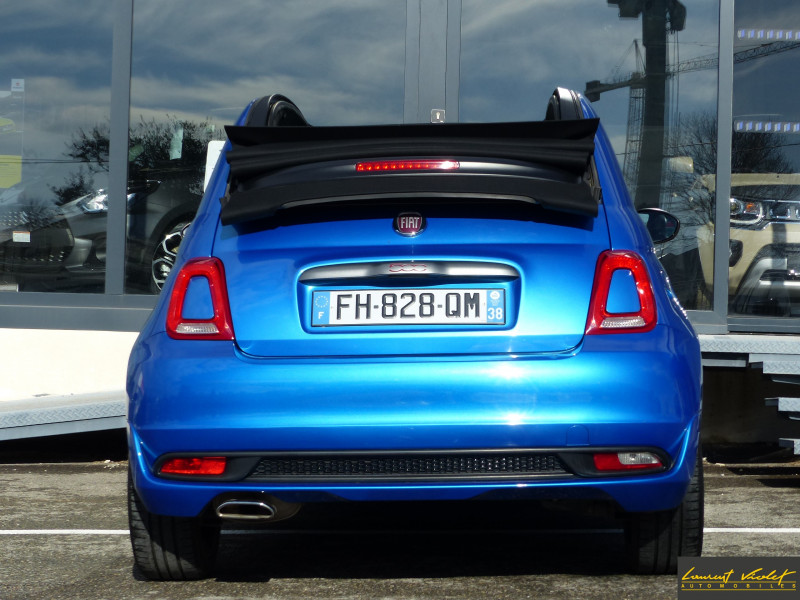 Photo 6 de l'offre de FIAT 500C MY17 1.2 69 ch Sport S Plus -35% à 11990€ chez Automobiles Laurent Violet