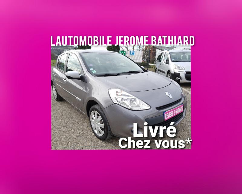Renault Clio III 1.2L 16V 75 cv 67000km 5 Portes GPS Climatisation Vitres Electriques Radio CD MP3 Essence gris Occasion à vendre