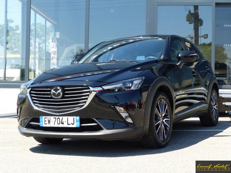 Mazda CX-3 2.0 Skyactiv-G 120 4x2 BVA6 Selection Essence NOIR Occasion à vendre