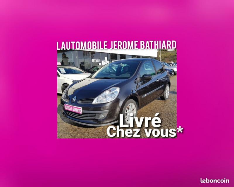 Renault Clio III 1.5L DCI 105cv Exception 3 Portes Clim Auto Bluetooth Jantes Aluminium Diesel NOIR Occasion à vendre