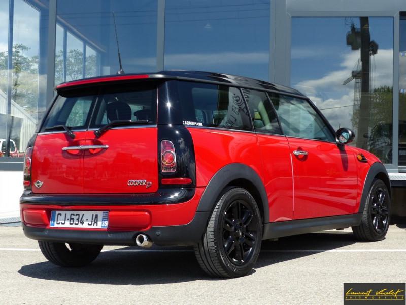 Photo 5 de l'offre de MINI Mini Clubman Cooper D 112 Pack Red Hot Chili à 8990€ chez Automobiles Laurent Violet