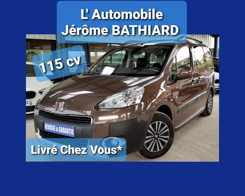 Photo 5 de l'offre de PEUGEOT Partner Tepee Outdoor 1.6L HDI 115cv Grip Control Clim Auto 2 Portes Latérales Radio CD MP3 à 11990€ chez L'Automobile - Jérôme BATHIARD