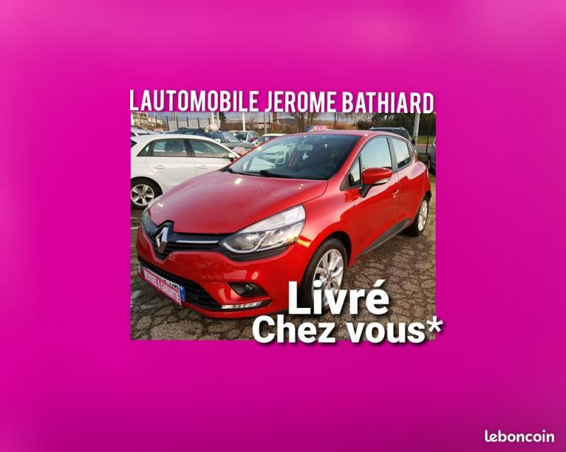 Renault Clio IV 1.5L DCI 90cv 31600km BVA Business Clim Bluetooth GPS Jantes Alu Radar de Recul Diesel ROUGE Occasion à vendre
