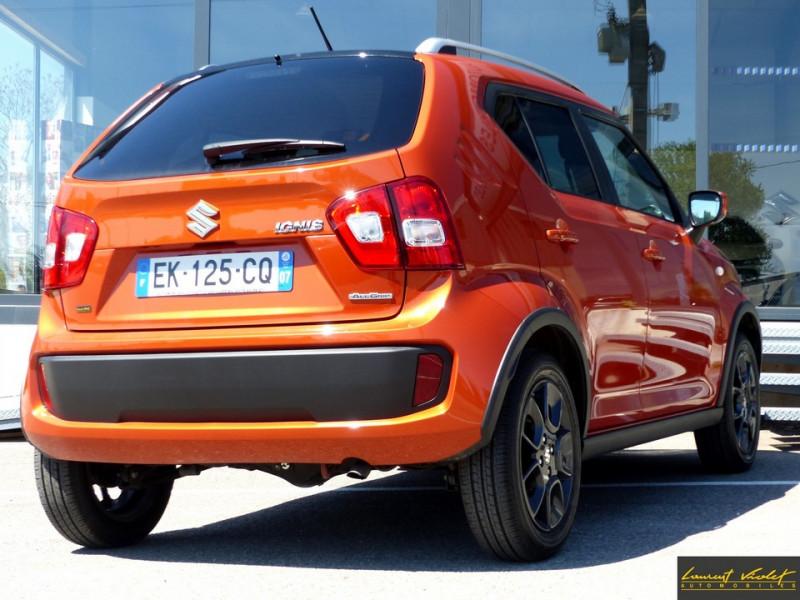 Photo 5 de l'offre de SUZUKI Ignis 4x4 1.2 Dualjet 90 AllGrip Privilège 1ère main à 10990€ chez Automobiles Laurent Violet