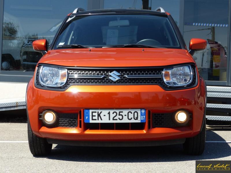 Photo 2 de l'offre de SUZUKI Ignis 4x4 1.2 Dualjet 90 AllGrip Privilège 1ère main à 10990€ chez Automobiles Laurent Violet
