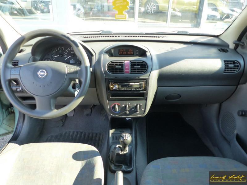 Photo 5 de l'offre de OPEL Corsa 1.0i 12S City Révisée à 2490€ chez Automobiles Laurent Violet