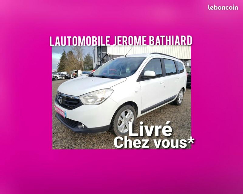 Dacia Lodgy 1.5L DCI 110cv Prestige 7 Places Attelage Clim Bluetooth GPS Radio Radar de Recul J. Alu Diesel BLANC Occasion à vendre