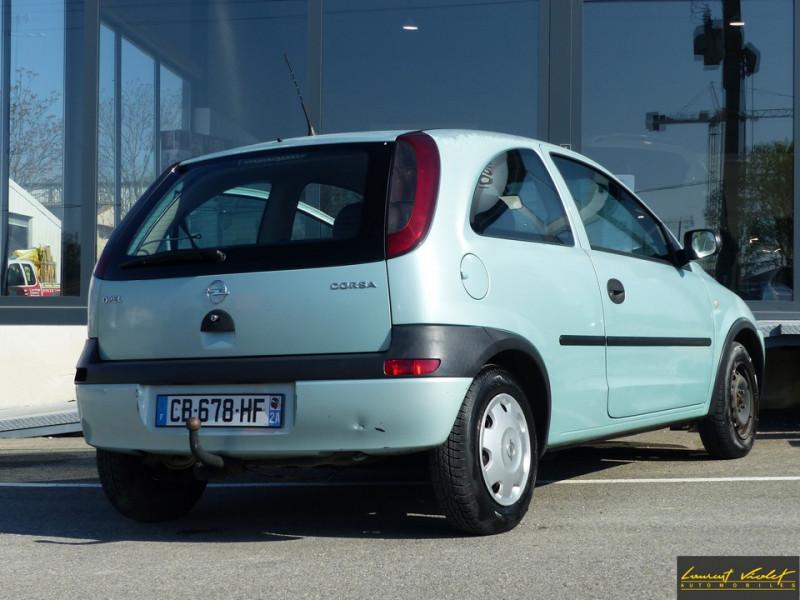 Photo 4 de l'offre de OPEL Corsa 1.0i 12S City Révisée à 2490€ chez Automobiles Laurent Violet