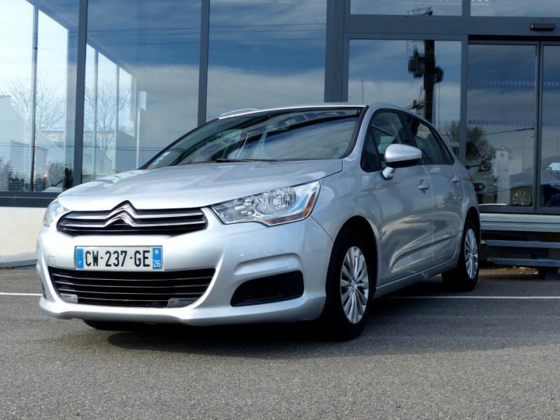 Citroen C4 II 1.6 Hdi 90 Attraction Diesel gris Occasion à vendre