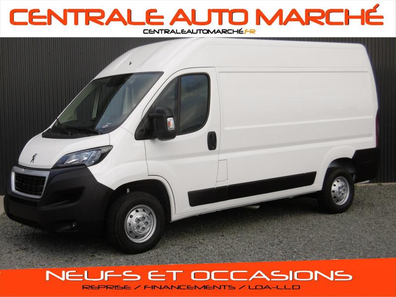 Photo 1 de l'offre de PEUGEOT BOXER FOURGON TOLE L2H2 ASPHALT à 28709€ chez Centrale auto marché Périgueux